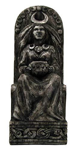 Dryad Design Seated Goddess Statue Stone Finish