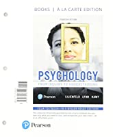Psychology: From Inquiry to Understanding, Books a la Carte Edition (4th Edition)