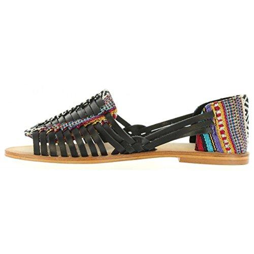 Sandalias de Mujer MTNG 94455 C25364 VAQ NEGRO