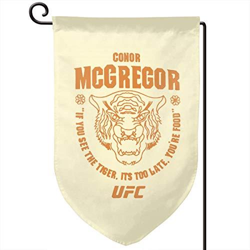 Mcgregors Garden - Audieru Conor McGregor UFC 202 Tiger Food Garden Flag 12.5 X 18 Vertical Double Sided Outdoor Decorative Home Garden Decor