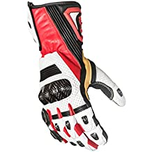 Protect the King Hornet Premium Leather Gauntlet Motorcycle Sport Biker Gloves