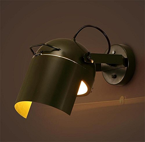 HOMEE Wall lamp- creative cafe restaurant bar personality lamps wrought iron aisle probe wall lamp --wall lighting decorations ( shape : single head ),Single Head by HOMEE