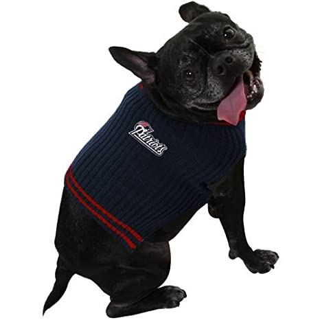 sneakers for cheap fbb7e e0546 New England Patriots Dog Pet Sweater - All Sizes (Large)