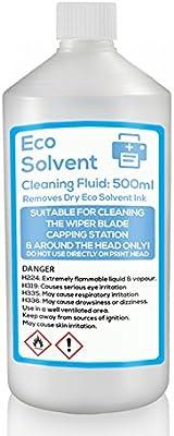 Eco Líquido de limpieza disolvente limpiador de, Roland, Mimaki, DX4, DX5 750 ml botella: Amazon.es: Electrónica