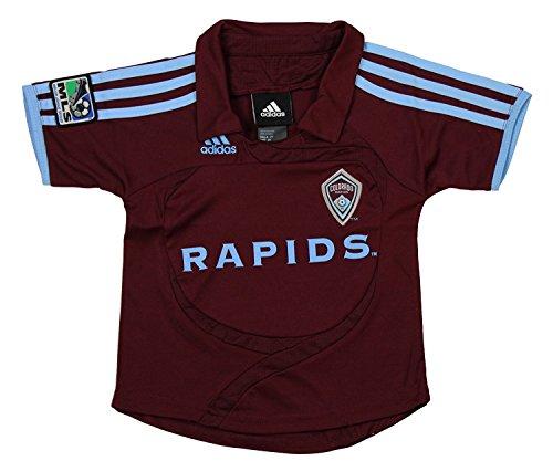 Colorado Rapids MLS Infants Home Replica Jersey Polo Top, Maroon (24 Months, Maroon) (24 Maroon Replica Football)
