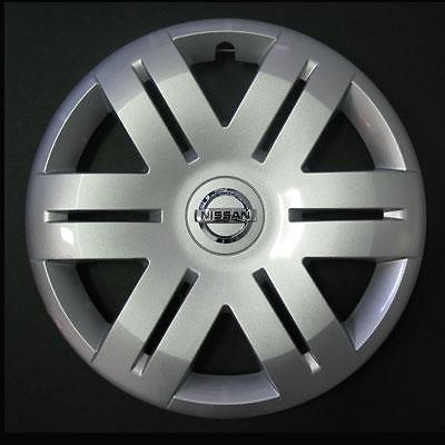 Copas Rueda Tapacubos Tachuelas Nissan Primestar diámetro 16 A partir de 2003 (Logo cromado)