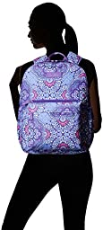 Vera Bradley Lighten Up Grande Laptop Backpack, Lilac Tapestry, One Size