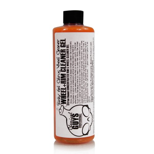 Chemical Guys CLD_105C_16 Sticky Gel Citrus Wheel and Rim Cleaner Gel (16 oz)