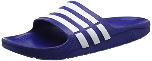 Adidas G15892, Chanclas Unisex Adultos Azul (New Navy / White / New Navy)