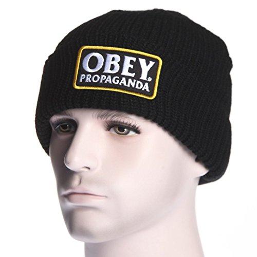 Gorro Obey  Demaged Beanie BK  Amazon.es  Ropa y accesorios 3ef314de5cd