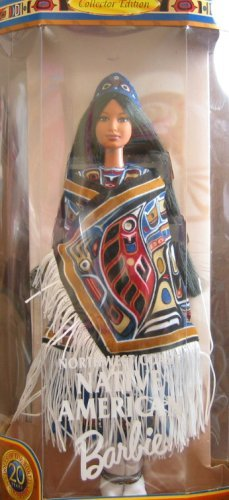 DOW Northwest Coast Native American Collector - Doll Native American