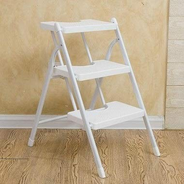 Huancement Chair Furniture Dining Room Chairs Parsons Chair Kitchen Chairs Set of 4 Dining Chairs Side Chairs for Home Kitchen Living Room Creative Folding Simple Step Stool Kitchen Bench Portable Hom (Set Hom Furniture Dining)
