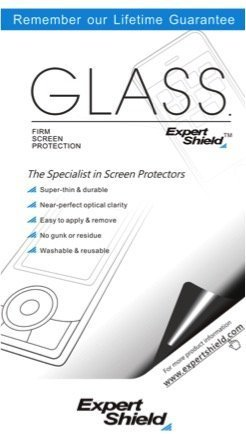 Glass by Expert Shield - The Ultra-Durable, Ultra Clear Screen Protector for Your: Nikon D5 - Glass
