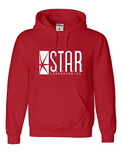 Go All Out X-Large Red Adult Star Labs Sweatshirt Hoodie ()
