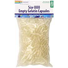 Solaray Empty Gelatin Capsules, 500 Count
