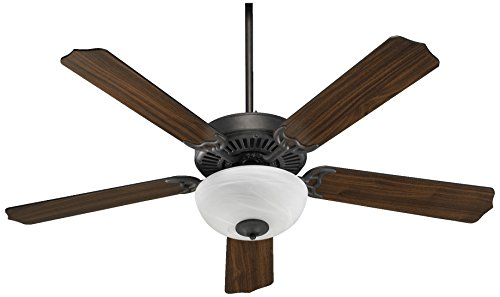 (Quorum International 77525-9244 Capri Uni Pack Bowl Ceiling Fan, Toasted Sienna )