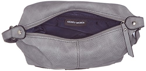 Gerry Weber Damen Deepness Shoulderbag Svz Schultertasche, Grau (Light Blue), 10x22x22 cm