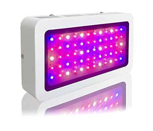 TopoLite 300W/ 600W/ 800W/ 1200W Full Spectrum LED Grow Light + Multiple Size Grow Tent Dark Room Indoor Hydroponic System Kit (LED 300W, 24''x24''x48'' D-Door) by TopoLite (Image #5)