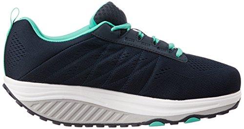 Skechers Womens Shape Ups 2.0 Fashion Sneaker Marine / Turquoise