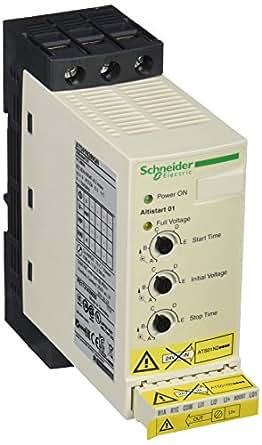 Schneider Electric ATS01N209QN Arrancador Suave ATS-01, 4 kW, 9 A, 380-415 V, 3 Fases