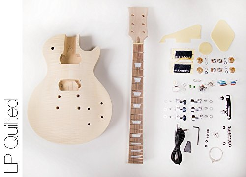 DIY Electric Guitar Kit LP Style Build Your Own Guitar Kit