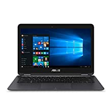 ASUS ZenBook Flip UX360CA 13.3-inch Touchscreen Convertible Laptop Core m3 8GB DDR3 256GB SSD with Windows 10(US Version, Imported)