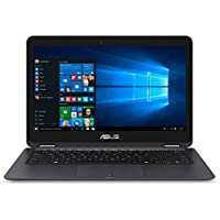 ASUS Zenbook 13.3' Full HD 1920x1080 Touchscreen 2-in-1 Laptop PC Intel Core M3-6Y30 Processor 8GB RAM 256GB SSD 802.11AC Wifi HDMI Bluetooth Webcam Windows 10-Gray