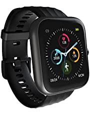 Smart Watch, Virmee Fitness Tracker VT3 Plus with 1.5 Inch HD Touch Screen 18 Sport Modes, Heart Rate Sleep Tracker Blood Oxygen Monitor Activity Tracker, IP68 Waterproof Fitness Watch for Men Women iPhone Android Phones