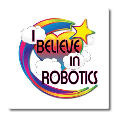 ht_166829_1 Dooni Designs - Believe In Dreamy Belief Designs - I Believe In Robotics Cute Believer Design - Iron on Heat Transfers - 8x8 Iron on Heat Transfer for White Material
