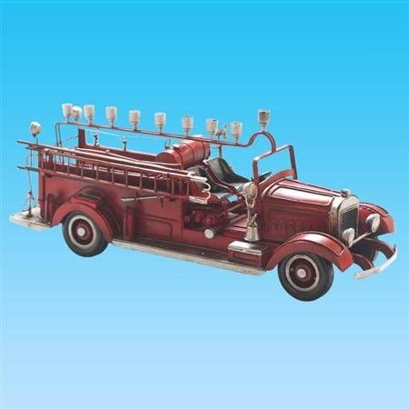 Legacy Fine Gifts Judaica 218 Old Time Fire Wagon Menorah