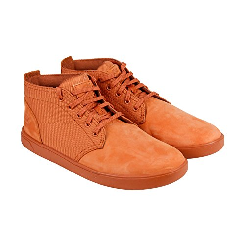 - Timberland Men's Groveton Lace to Toe Chukka Boot, Burnt Orange Nubuck, 11 M US