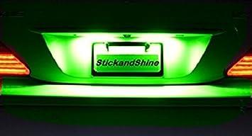 SMD LED Luces matrícula puede Saludable Verde adecuados para Toyota Auris
