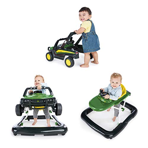 Bright Starts John Deere Gator 3 Ways to Play Walker, Ages 6 Months +