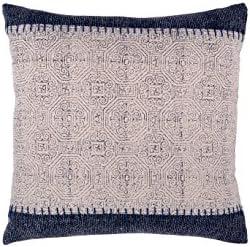 Fab Habitat Decorative Throw Pillow Includes Pillow Insert Handmade Large Accent Pillow, 20 x 20 Modern Neutral Designs – Mix Match Jaipur