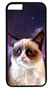Cat In Space Animal Case for iPhone 6 Plus PC Black by Cases & Mousepads