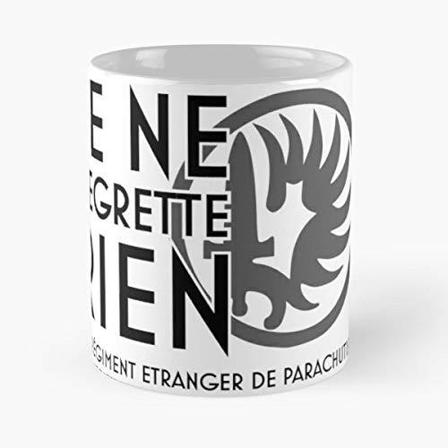 Legionnaires Unit - Foreign Legion Etrangere Shirt Legio Patria Nostra Motto - Morning Coffee Mug Ceramic Novelty Holiday