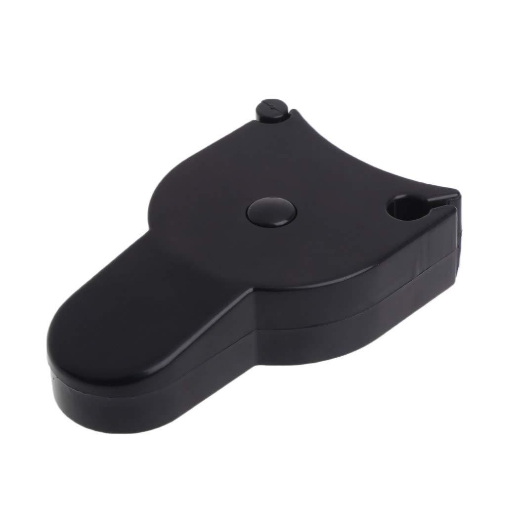 Taille unique Baoyl Fitness Clip Mesure de la graisse corporelle Kit Pied /à coulisse Noir