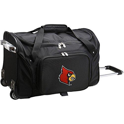 NCAA Louisville Cardinals Wheeled Duffle Bag