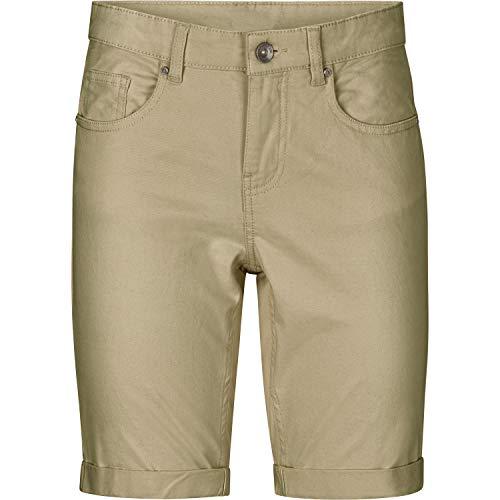 Ellos Women's Plus Size Stretch Twill Bermuda Shorts - Burnt Olive, 18 ()