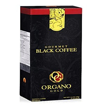5 Boxes Organo Gold Gourmet Black Coffee - 150 Sachets