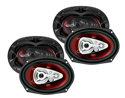 5 Way Full Range 600 Watts of Power Per Pair and 300 Watts Each Sold in Pairs Easy Mounting BOSS Audio Systems CH6950 Car Speakers 6 x 9 Inch