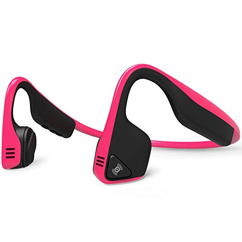 Aftershokz AS600PK Trekz Titanium Open Ear Wireless Bone Conduction Headphones, Pink