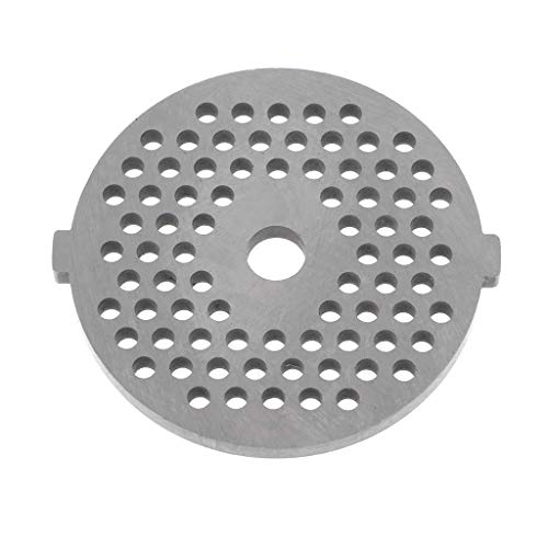 - Thobu Meat Grinder Plate Net Knife Meat Grinder Parts Stainless Steel Meat Hole Plate Hole Diameter 3 mm