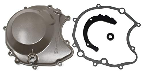 Distance Powersports DP 0431-001 Left Side Stator Magneto Cover with OEM Oil Seal and OEM Gasket Fits Suzuki LT230S LT250S QuadSport