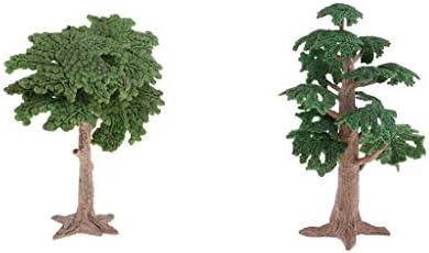 sharprepublic 風景モデル 材料 ツリーモデル 木モデル ランドスケープモデル 松の木 サイプレス 模型 2本入り