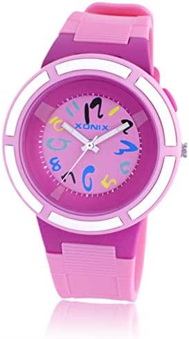 Cute girl Candy jelly waterproof quartz watches-A