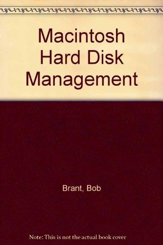 Hardware Computer Cd / Dvd - Macintosh Hard Disk Management/Book and 3 1/2