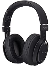 Wireless BlueAnt Pump Zone Over Ear Wireless Headphone, Black, Black, (Pump-Zone-BK)