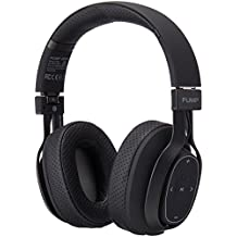 BlueAnt - Pump Zone Over Ear HD Wireless Headphones, 30+ hrs Battery, Mega Bass and Enhanced Sound Purity (Black)