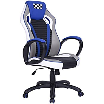 Epic Gaming Chair Computer Desk Chair Coavas Racing Chair Office High Back PU Leather Computer Task Chair